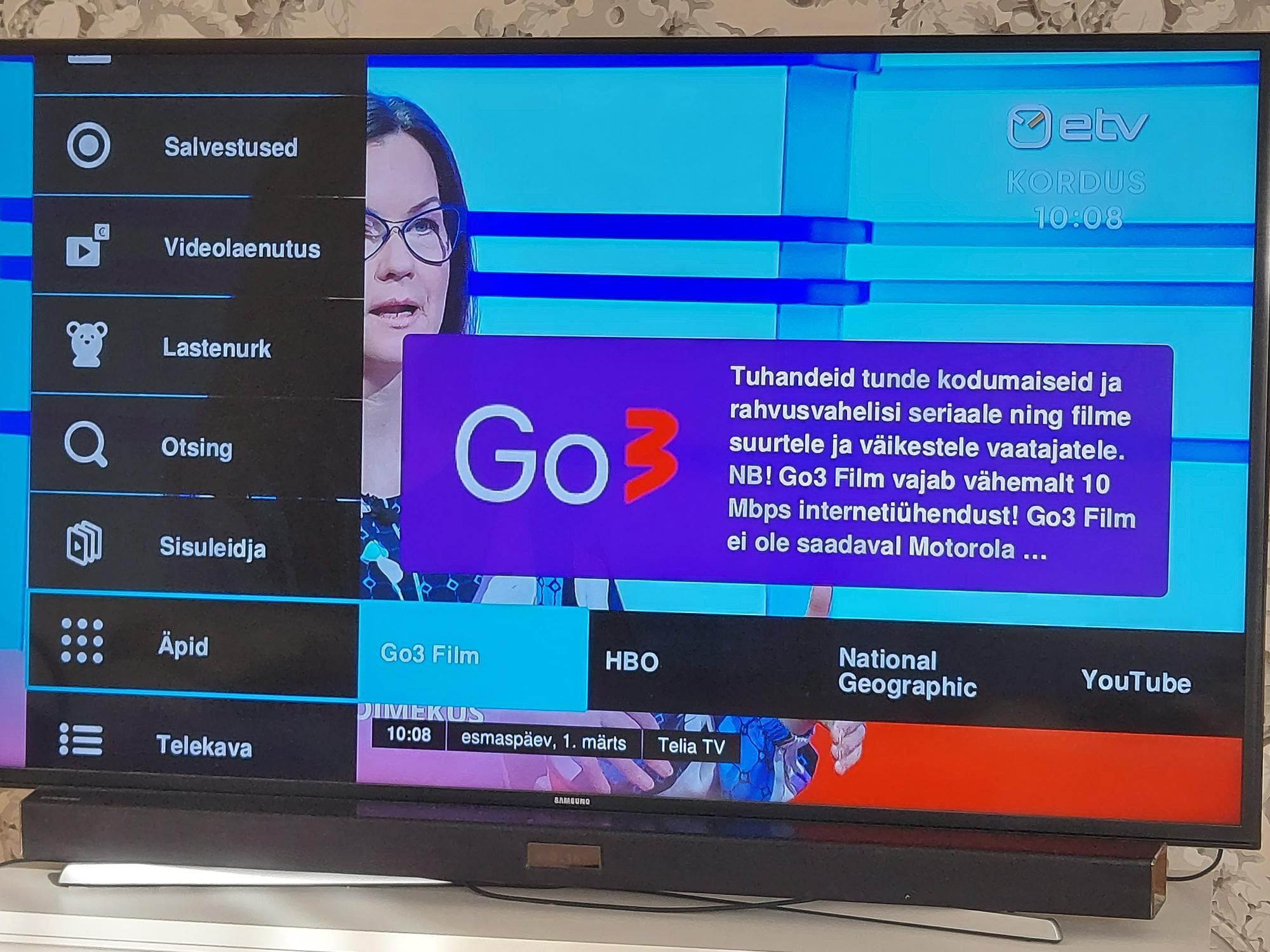 Telia kliendid saavad oma TV-paketi vaatamisõigust jagada