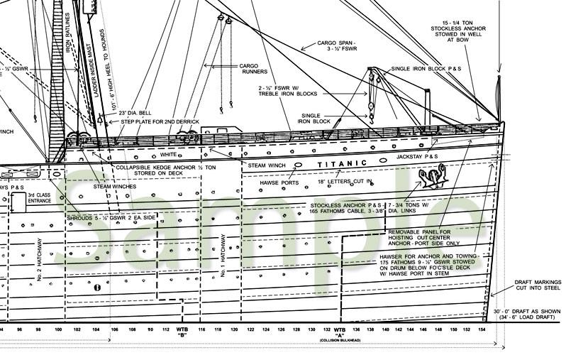 Чертежи кораблей Олимпик-класса и другие - фото 165 - Титаник2012.рф.
