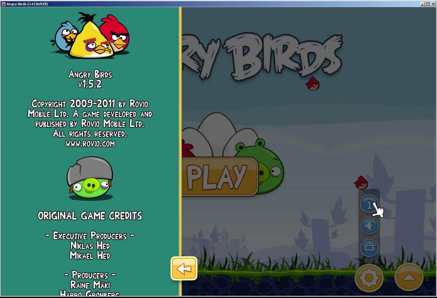 Angry Birds v1.5.2 Cracked GAME-ErES