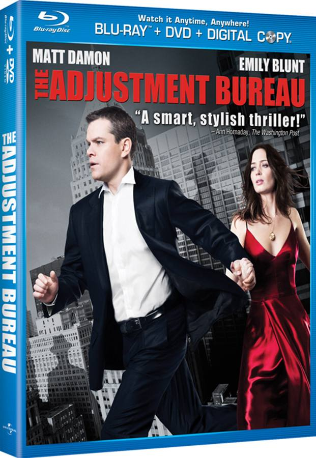 The Adjustment Bureau 2011 720p BluRay x264-SiNNERS