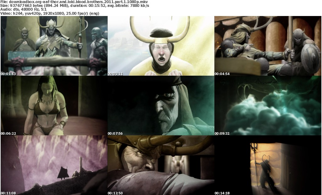 Thor And Loki Blood Brothers 2011 Part 1-4 1080p BluRay x264-aAF