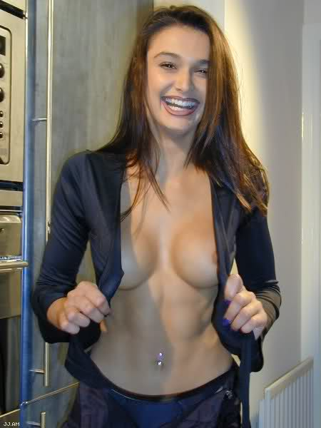 hot girl abs topless