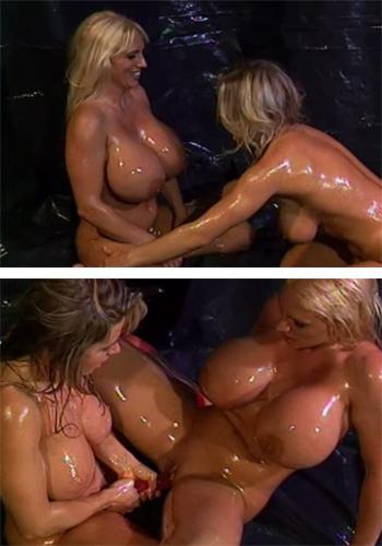 Free porn lesbian fake tits something