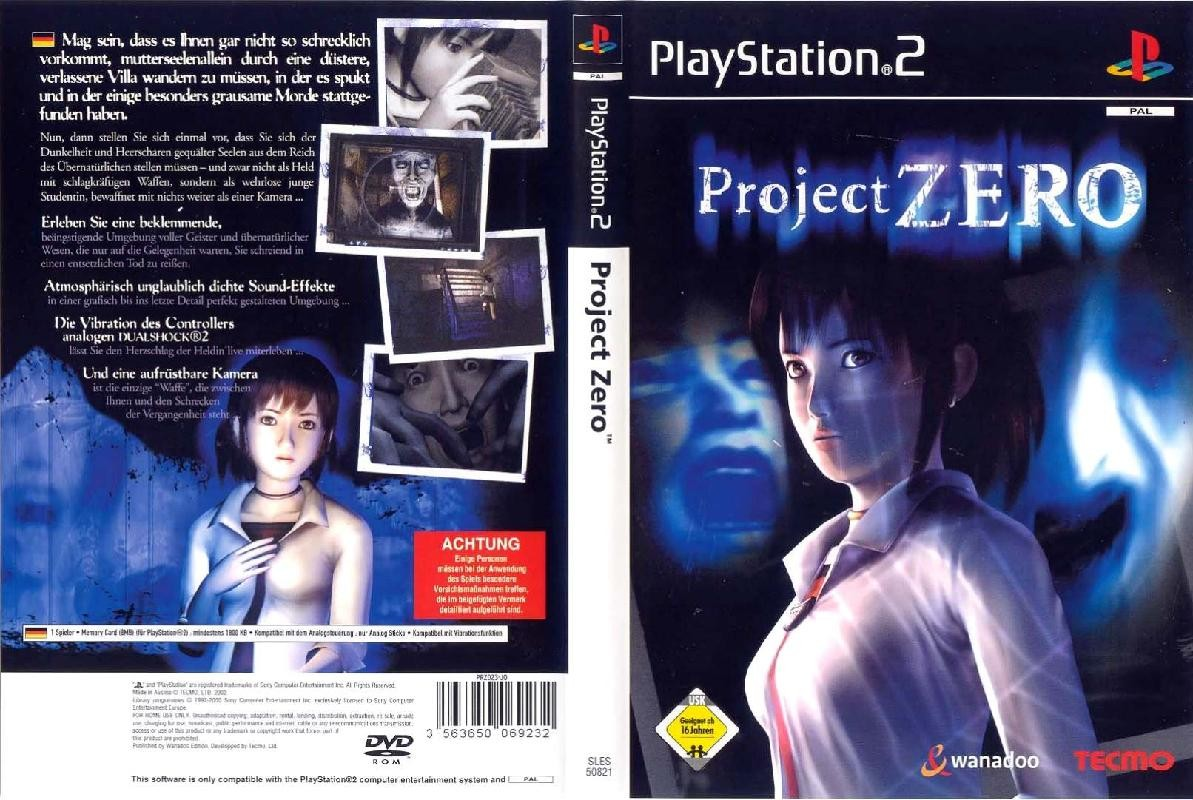 psc  u00bb want to trade or sell project zero  ps2  sles 50821 ps2 games manual pdf ps2 game manual read