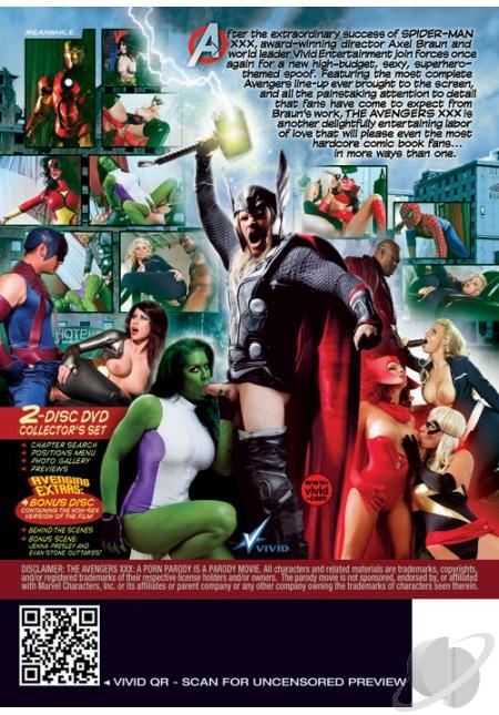 Avengers XXX A Porn Parody XXX DVDRip XviD-Jiggly