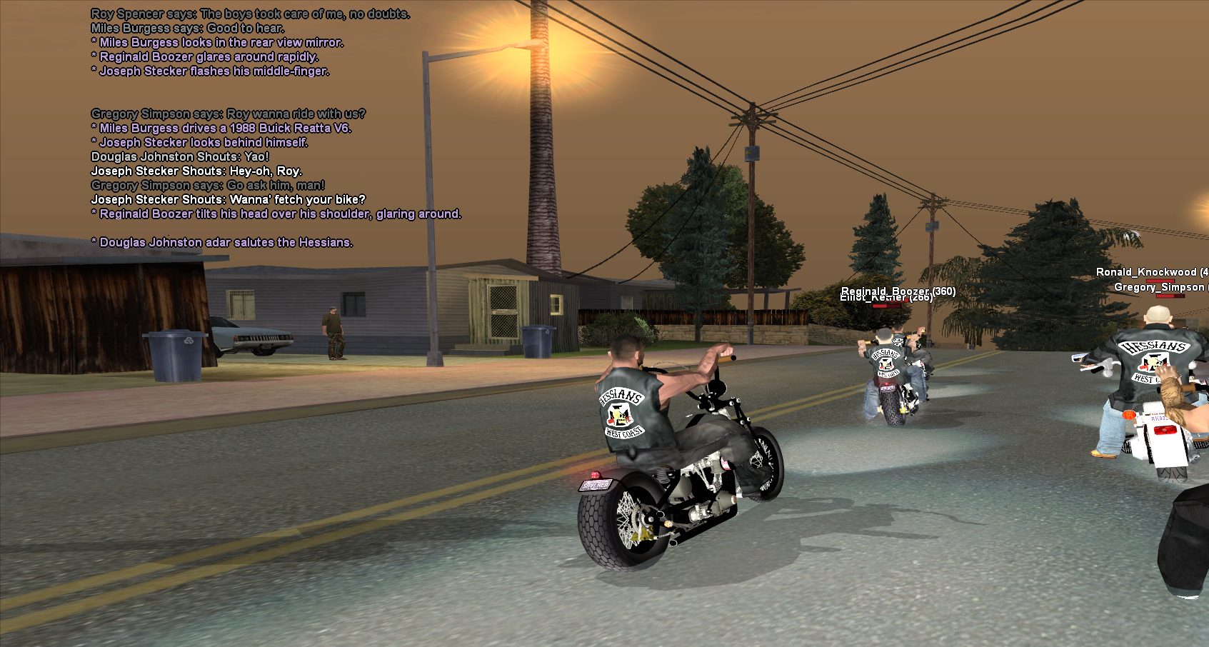 how to start a motorcycle club gta