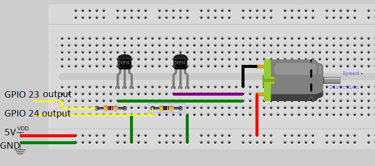 Motor Speedcontrolling With Transistor Pwmortransistor