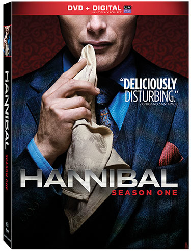 Hannibal Season 1 DVDs
