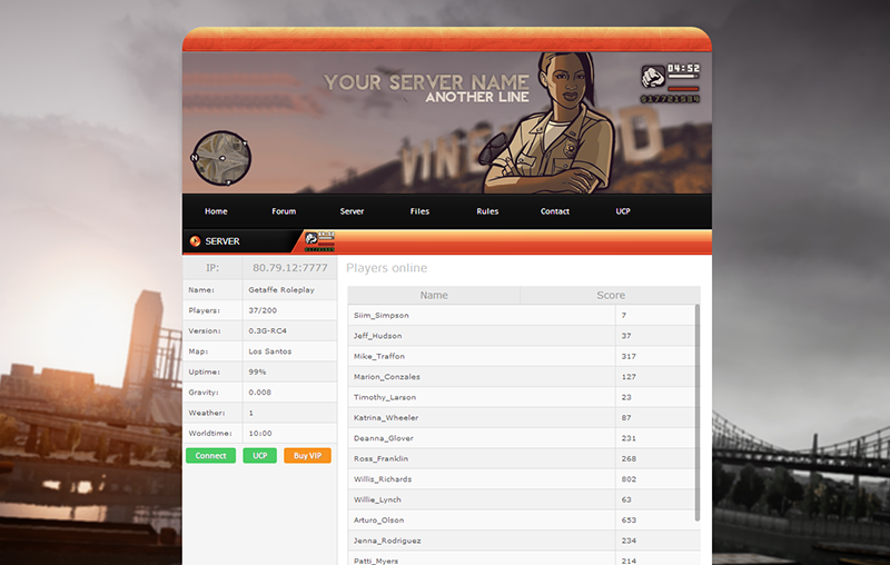 Template sa mp template for Php forum templates free download