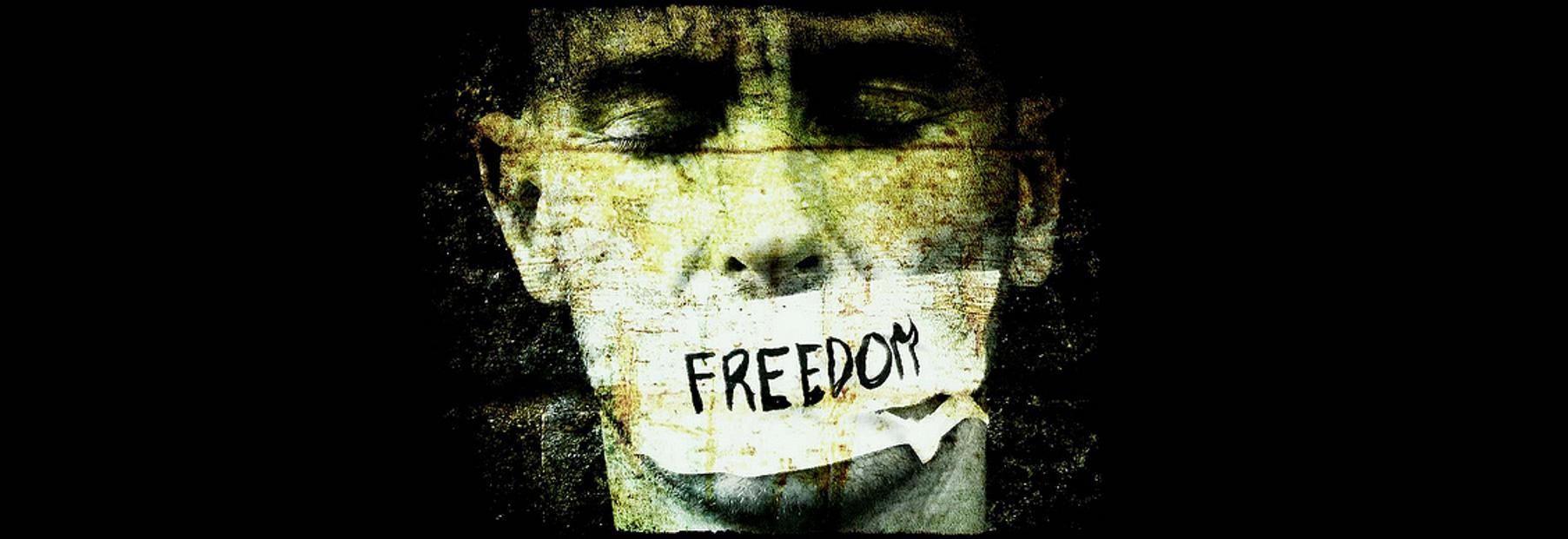 the question of whether censorship is freedom or suppression