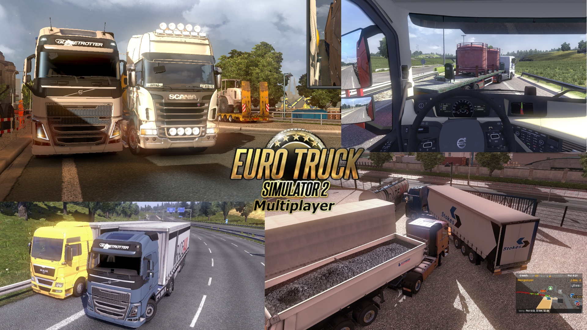 euro truck simulator 2 multiplayer mods. Black Bedroom Furniture Sets. Home Design Ideas