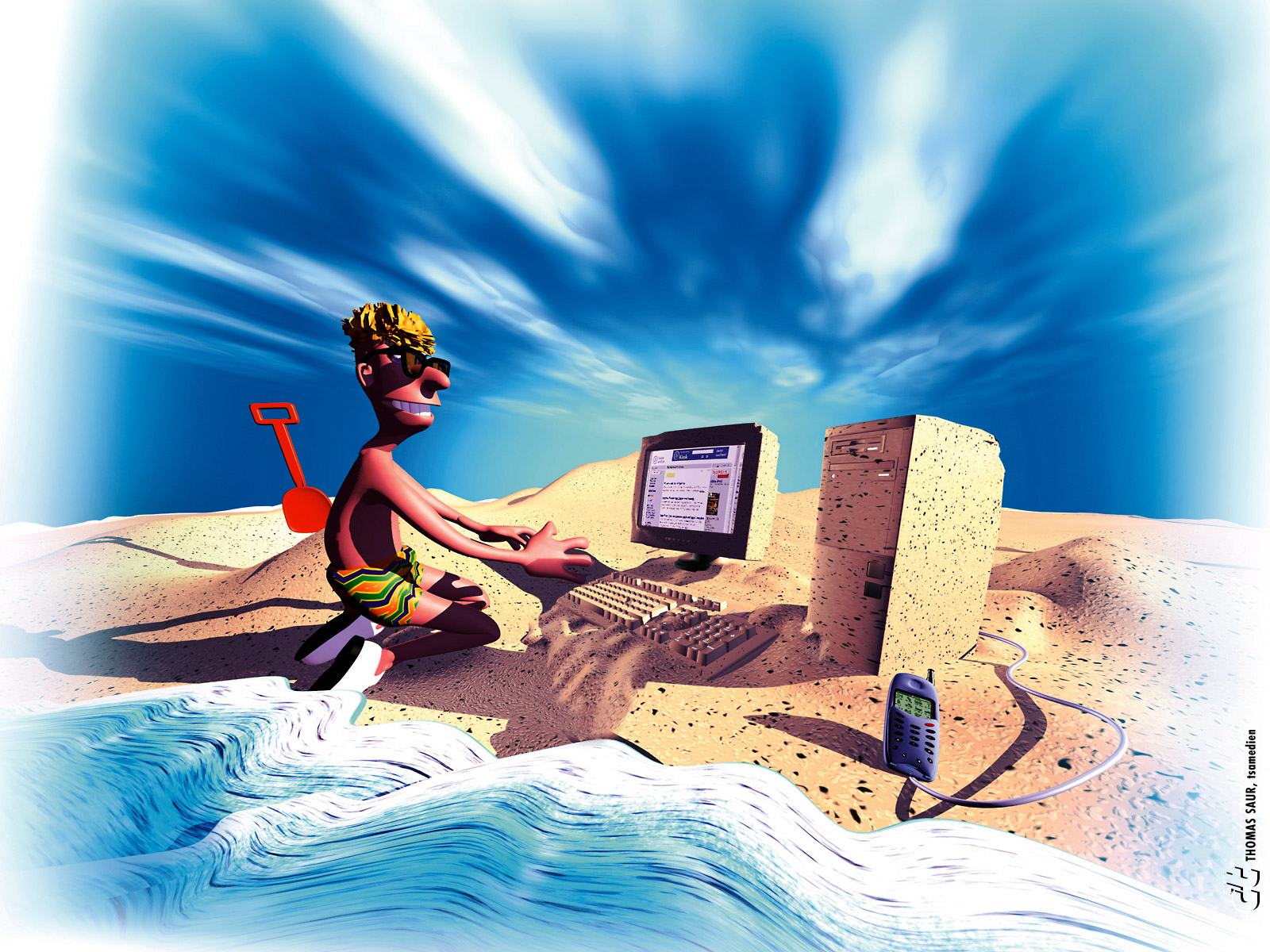 декоративного открытка любителю компьютерных игр декоративной отделкой