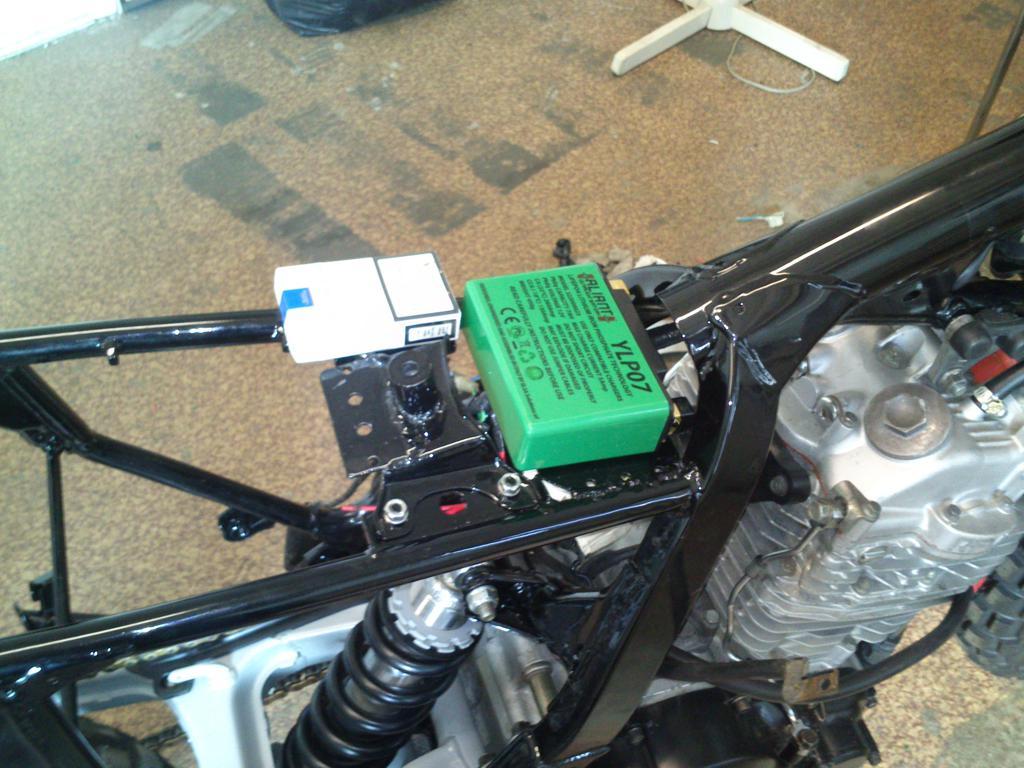 Honda Nx650 Dominator Tracker