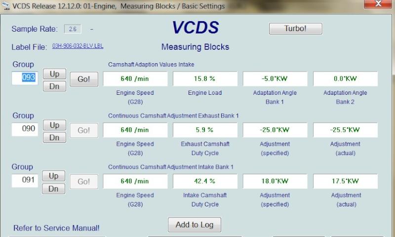 Vwvortex Com Camshaft Timing Issues Vag Com 93 What Is