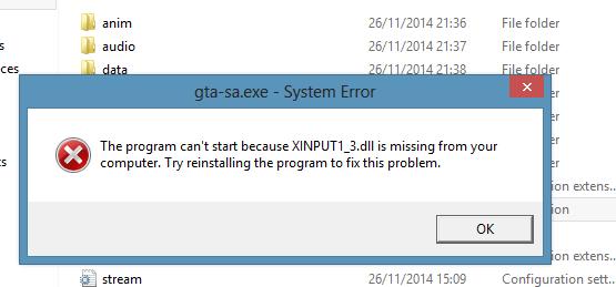 directx xinput1_3.dll download