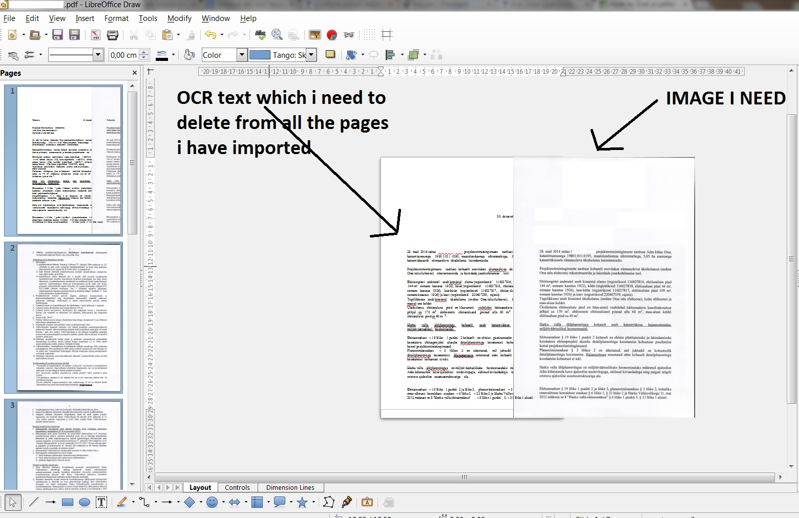 Libreoffice Draw Text Delete Ask Libreoffice