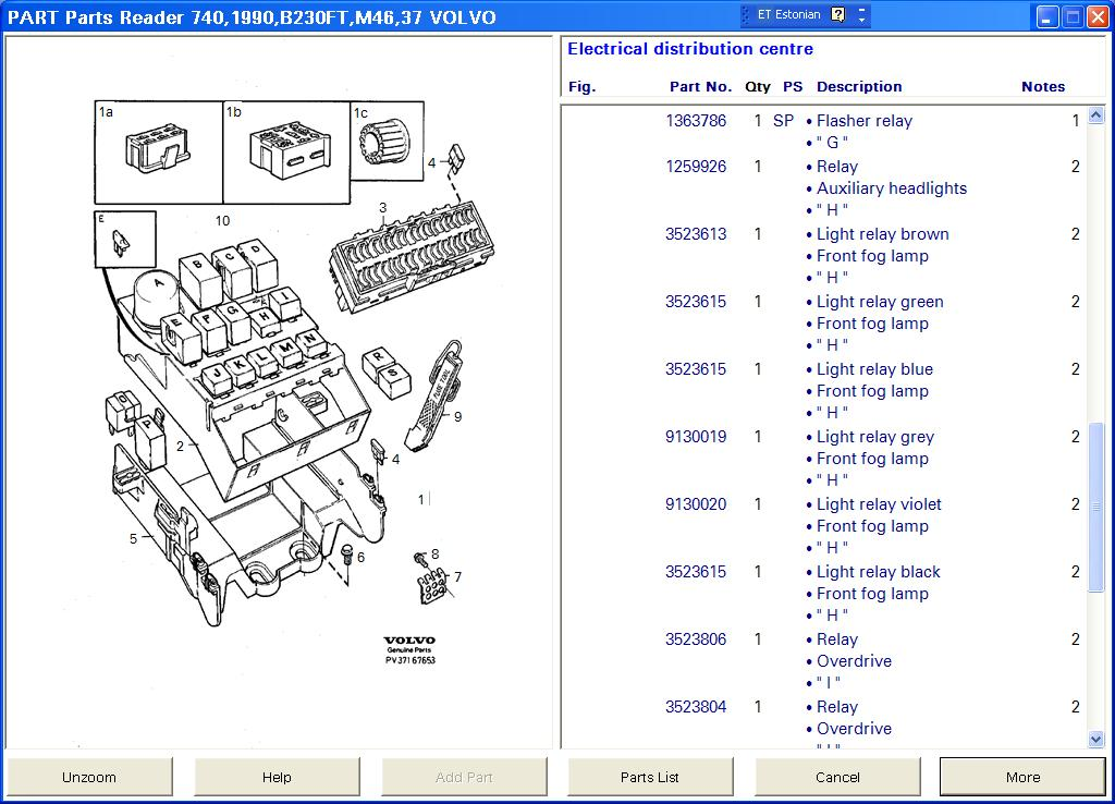 Releed Vol on 1994 Volvo 940 Turbo Diagrams