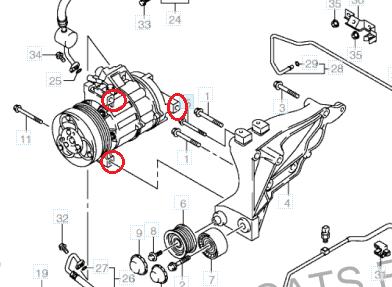 1 9 ddis A/C compressor bearing - Suzuki Forums: Suzuki Forum Site