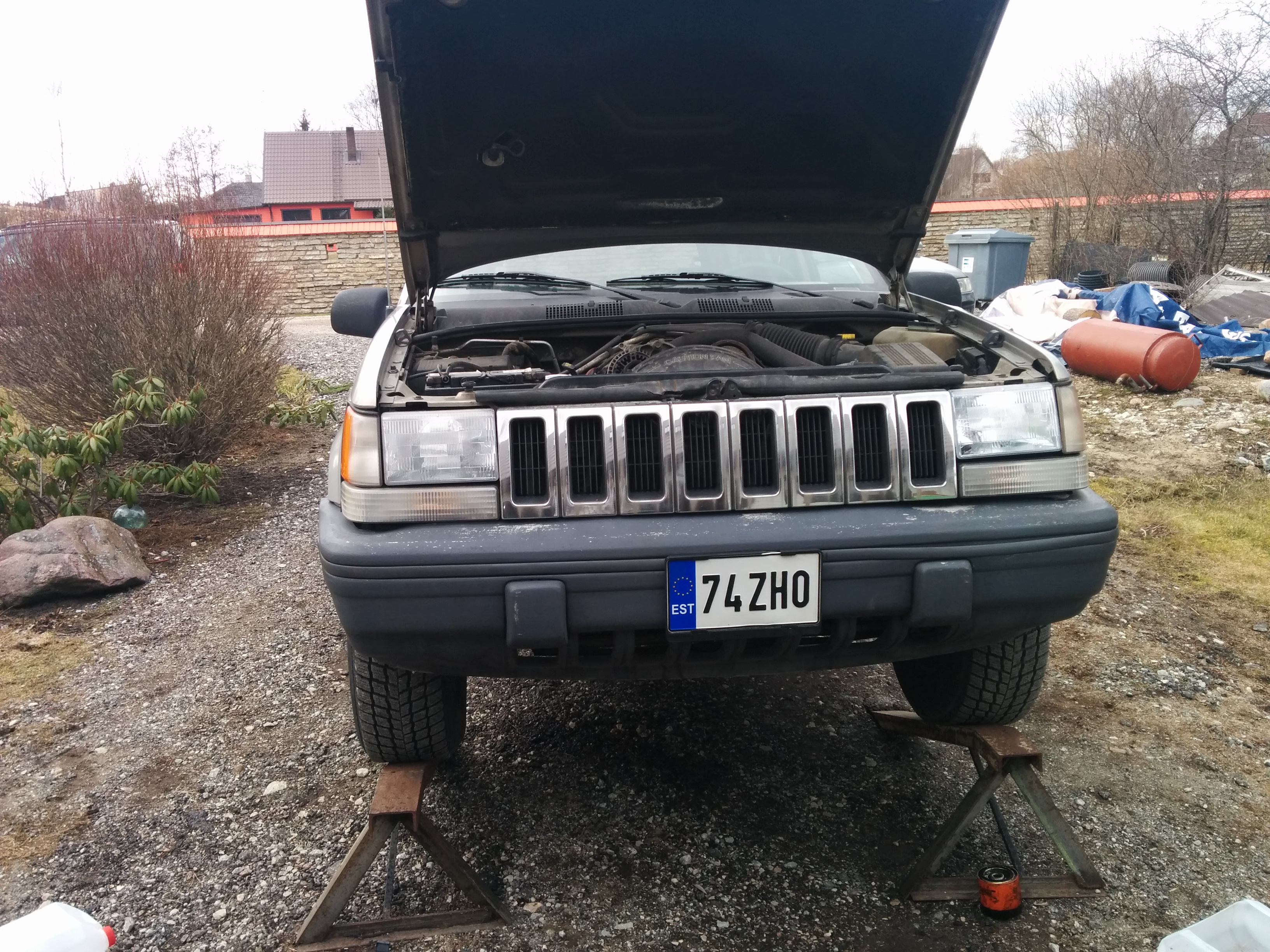 how to get rid of oil change message on jeep