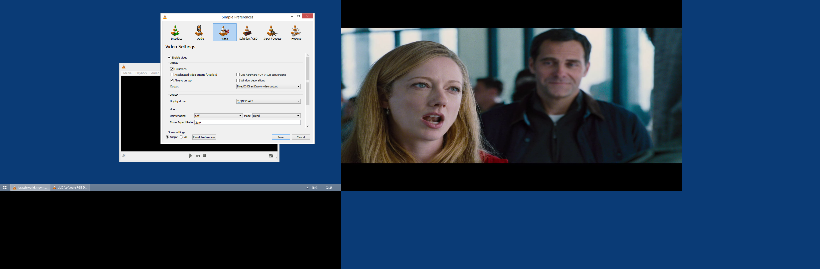 VLC Theater Mode issue - The VideoLAN Forums