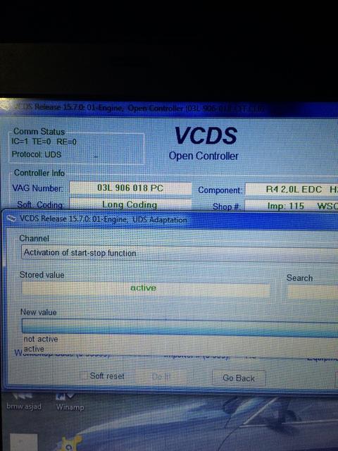 VWVortex com - Q:Start-stop deactivating via vcds
