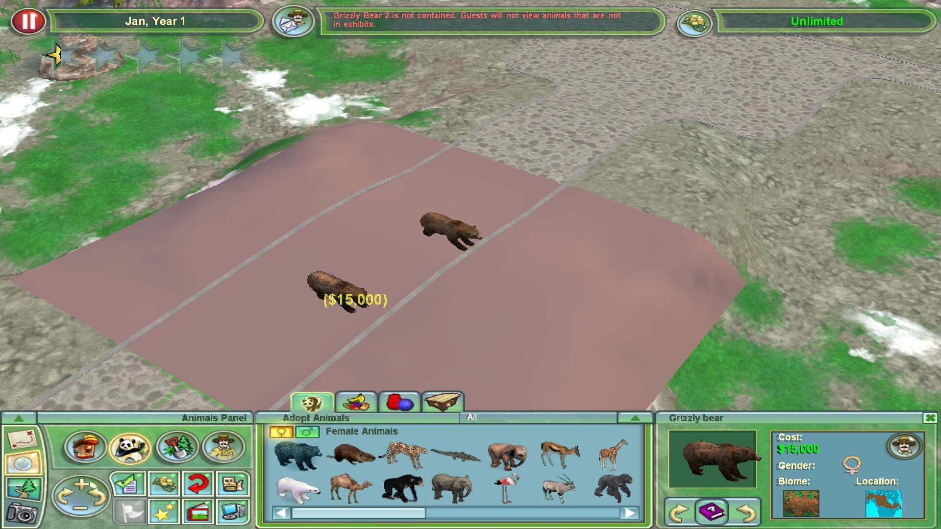 Zoo Tycoon 2 Radical Remake Error - The ZT2 Round Table
