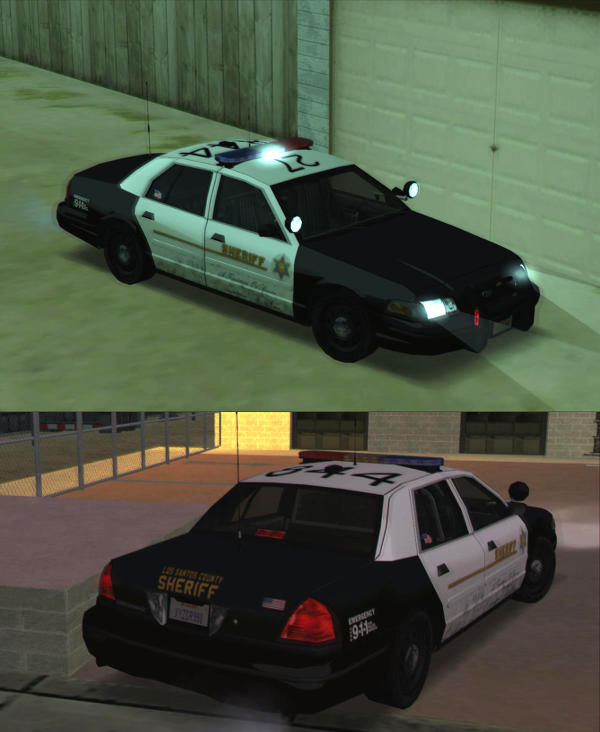 rel ford crown victoria low poly by krystofer