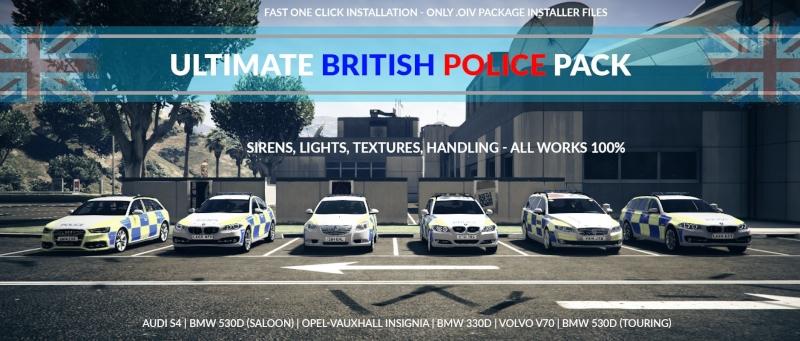 Ultimate British Police Pack - GTA V - GTAForums