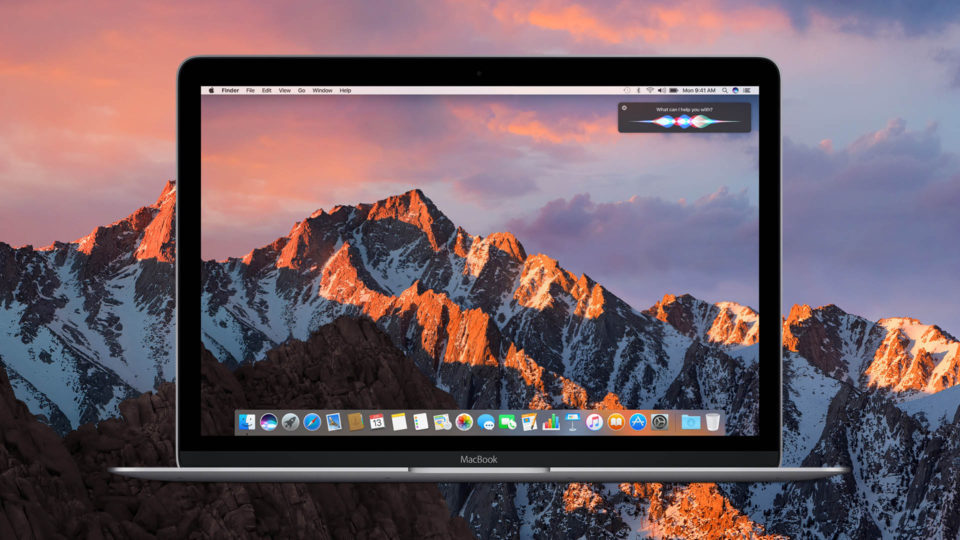 MacOS Sierra is here