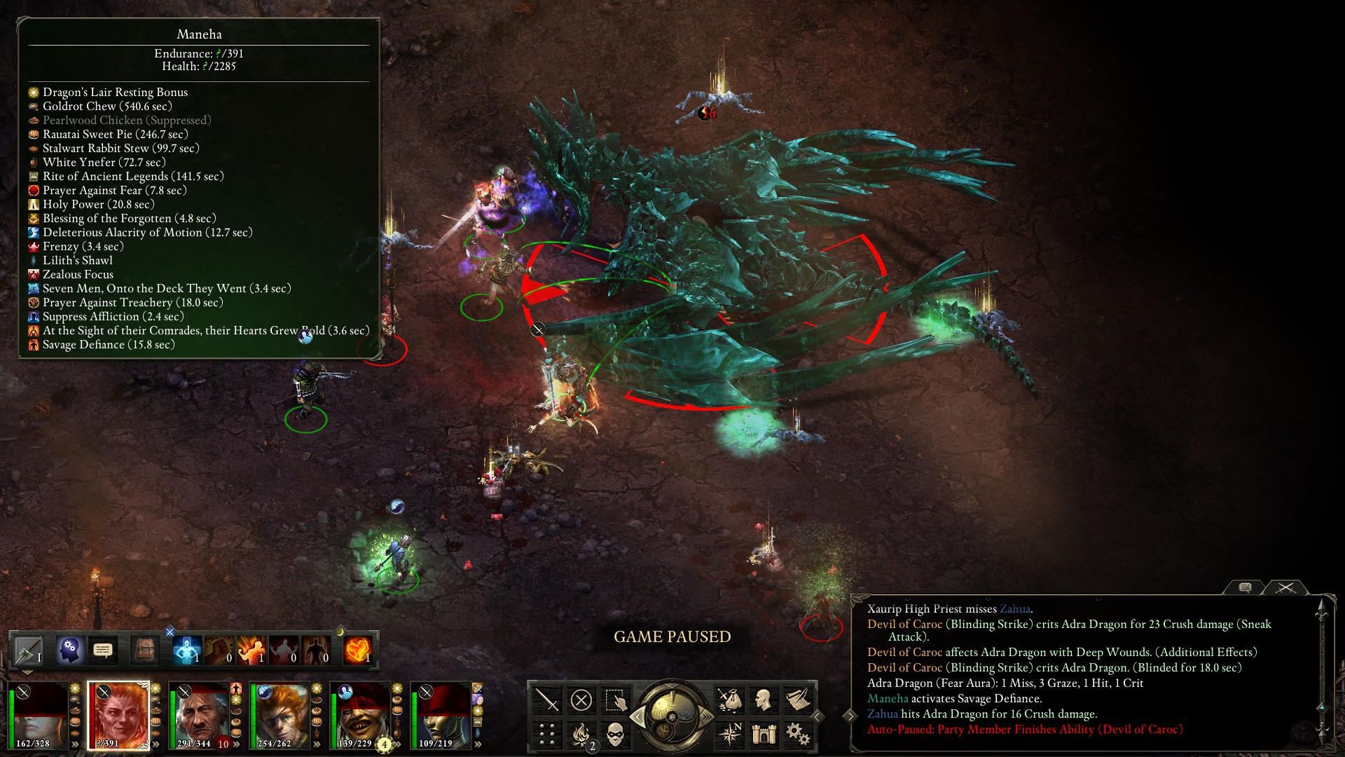 How to kill Adra Dragon - Pillars of Eternity: General Discussion