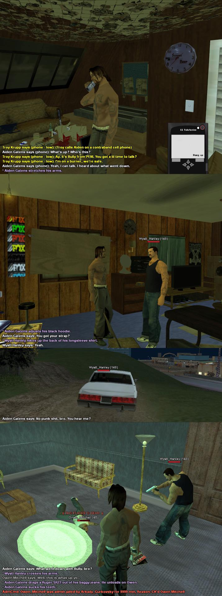 Family Wood Gangsters (FWG) - Los Santos Roleplay