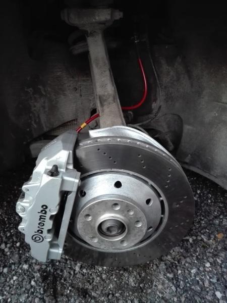 For sale: Audi RS(4,5,6 c5, R8) 365x34 BIG BRAKE SET (calipers, 2x disc set, 2x pads set) IMG_20160328_194301