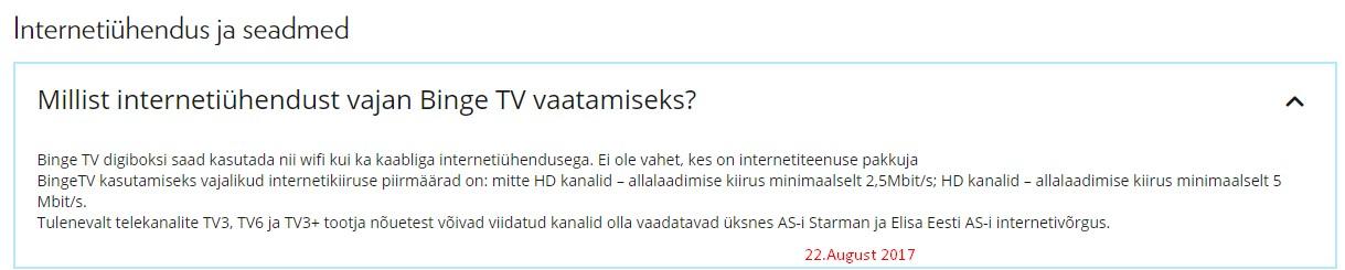 840d1014279 ... kanalid olla vaadatavad üksnes AS-i Starman ja Elisa Eesti AS-i  internetivõrgus.