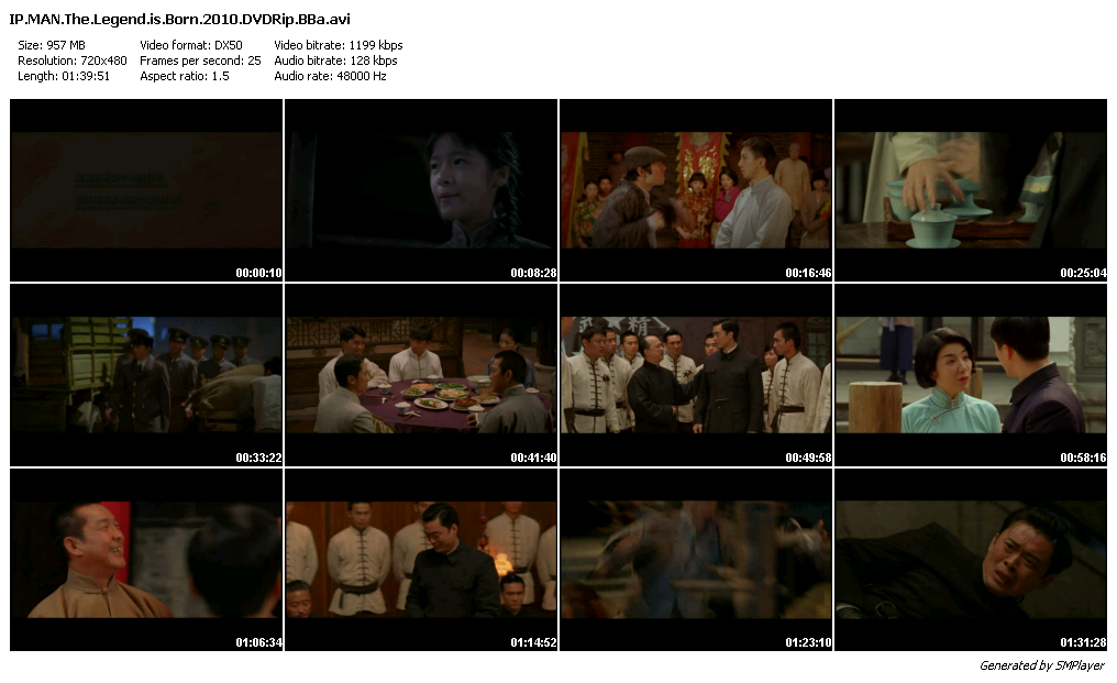 The Legend Is Born: Ip Man (2010) DVDRip-BBa