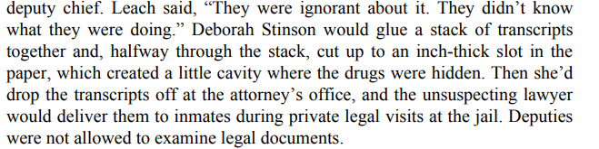 Smuggling Contraband, Pro Per Status, and Subpoenas 1_-_Copy