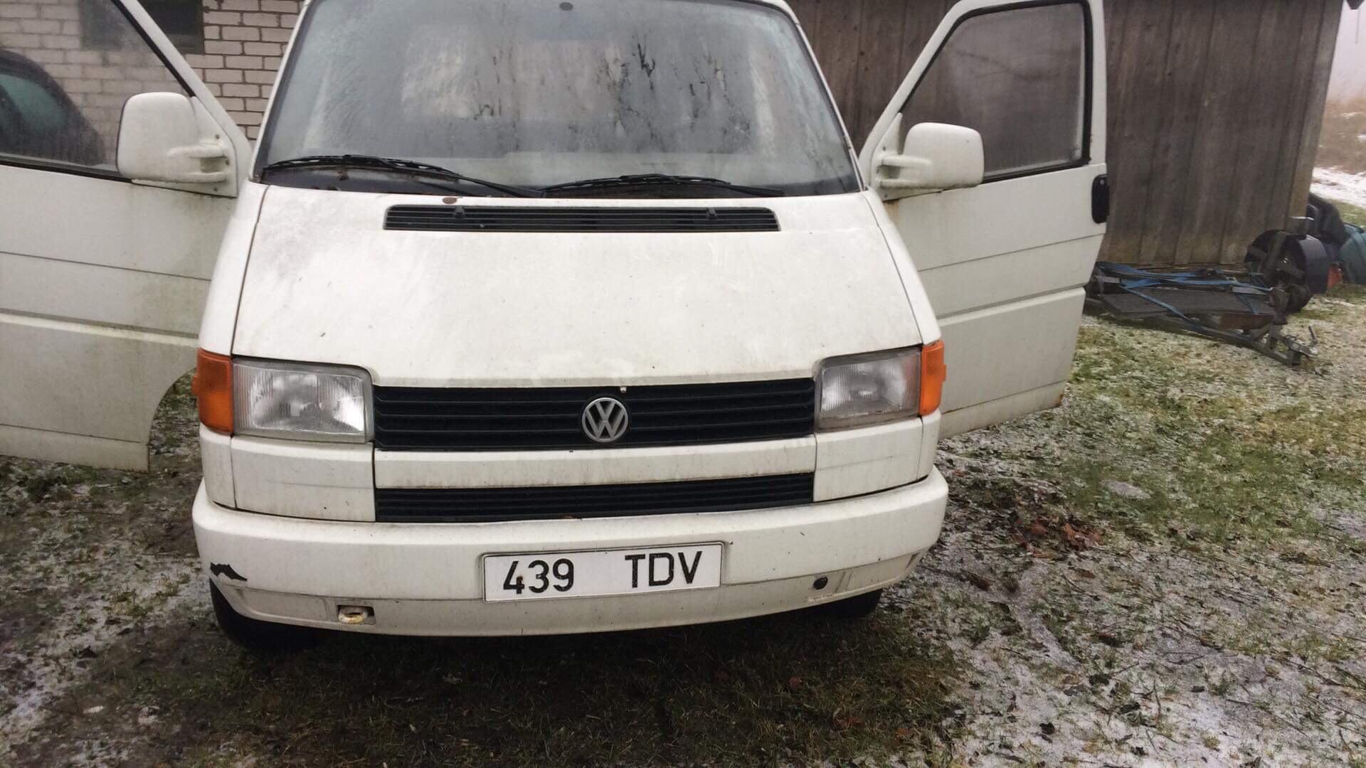 493a861b045 M: VW Multivan T4 varuosadeks - Eesti Volkswageni Klubi foorum
