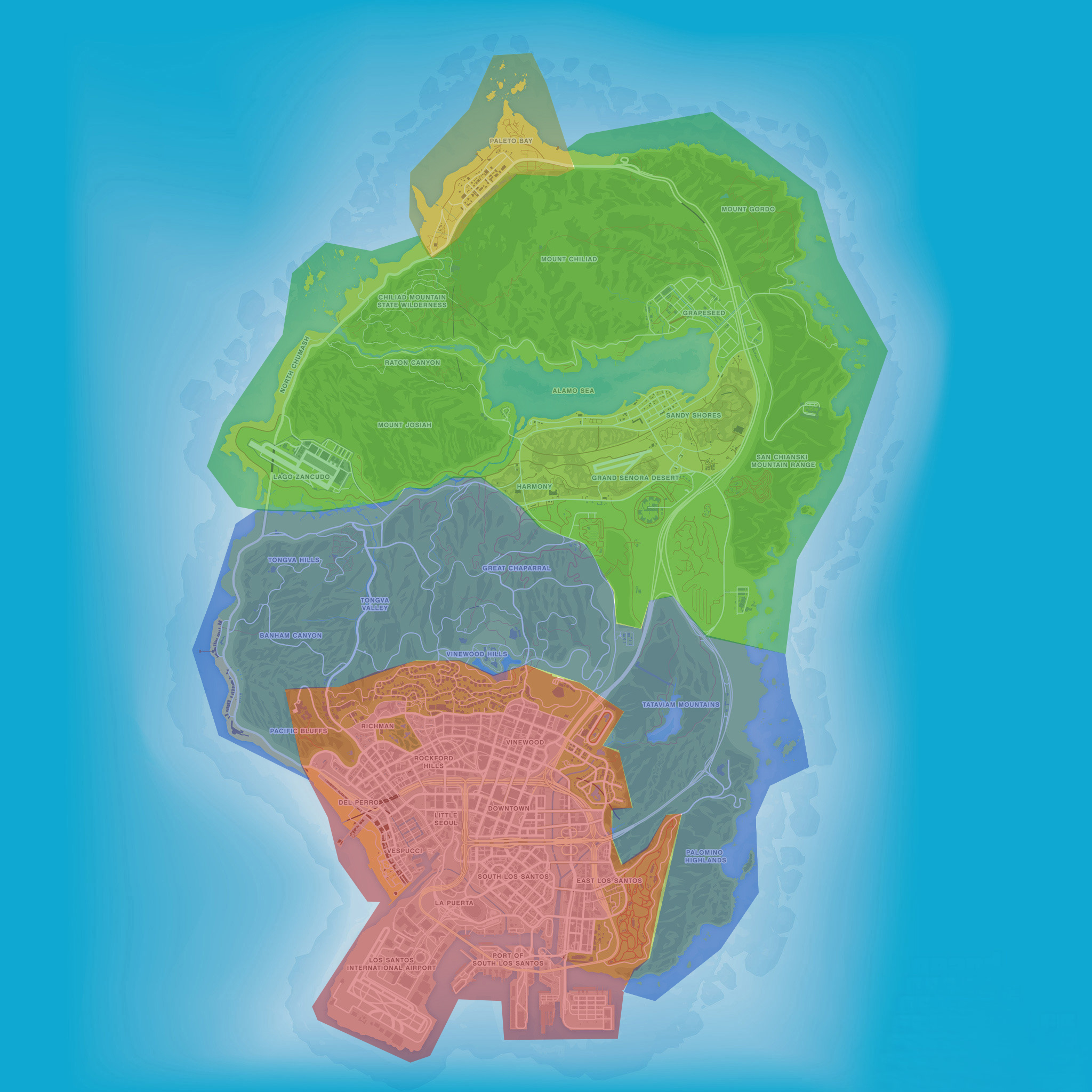 I Am Still Wondering THIS About The GTA V Map...