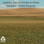 Land for Sale in Florida at Prime Location - APXN Property