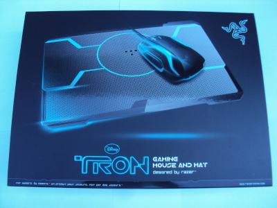 Razer Tron Mouse and Mousepad